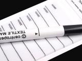 Vasalható névcímke filctollal - 45 db Papir,celofán,fólia