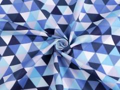 100 % pamutanyag - Háromszög