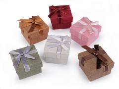Ékszeres doboz 5x5 cm - 6 db/csomag Ékszerdoboz, tárolás