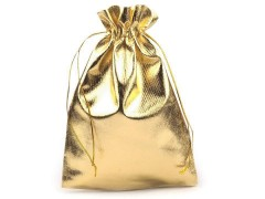 Ajándéktasak szett arany - 10 db Doboz,zsákocska