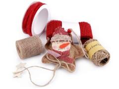 Karácsonyi juta készlet Kreatív szett