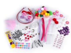 Gyermek kreatív készlet hajdíszekre Kreatív szett