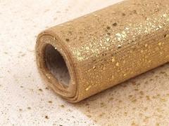 Dekorációs tüll glitterekkel - 9 m Dekorációs szövet