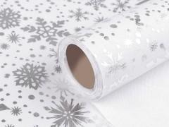 Karácsonyi dekoráció - 4,5 m Dekorációs szövet
