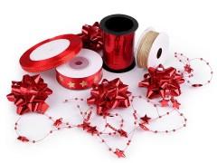 Ajándék csomagoló készlet - Piros Ajándék csomagolás