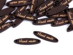 Fa cédula - Hand made 10 db/csomag Vasalható, varrható folt