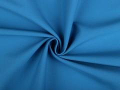 Softshell téli vizálló textil - Azúrkék Vizlepergető, fürdőruha anyag