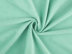 Bársony anyag strukturált - Menta Plüss, bársony, frottir