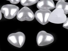 Gyöngy szív - 25 db/csomag Esküvői díszítés