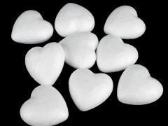 Polisztirol szív - 20 db/csomag