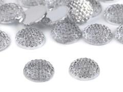 Csiszolt kövek - 20 db/csomag Varrható, ragasztható ruhadísz