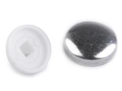 Behúzható gomb 15,2 mm - 100 db Gomb, kapocs