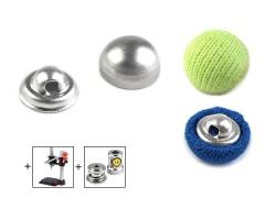 Behúzható gomb 10,2 mm - 100 db/csomag Gomb, kapocs