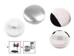 Behúzható gomb 16,5 mm - 100 db Gomb, kapocs
