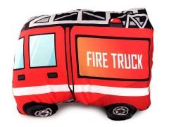 Dekorációs párna belsővel - Tűzoltó autó Párna,takaró