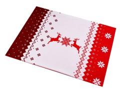 Karácsonyi teríték kétoldalas - 1 pár
