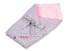 Minky puha pólya - Rózsaszín Párna,takaró