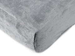 Plüss gumis lepedő - 90x200 cm Párna,takaró