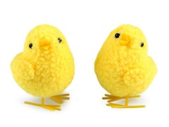 Nagy húsvéti csirke dekoráció - 2 db