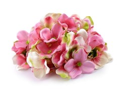 Hortenzia művirág - 2 csokor Virág, toll, növény