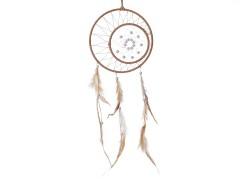 Álomfogó gyöngyökkel és tollakkal