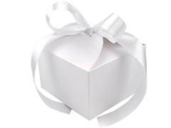 Ajándék papírdoboz szalaggal - 10 db/csomag Doboz,zsákocska
