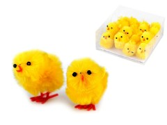 Dekorációs húsvéti csirke - 12 db Madárka, állatka