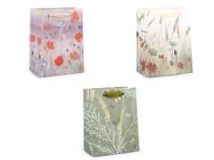 Ajándék táska glitterekkel Ajándék csomagolás