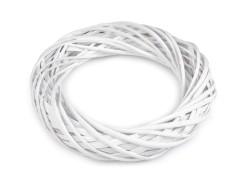 Fehér vessző koszorú - 25 cm Koszorú