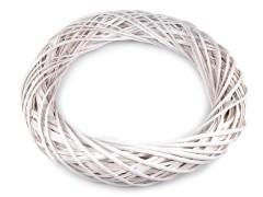 Fehér vessző koszorú - 50 cm Koszorú