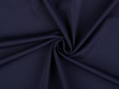 Fürdőruha anyag 0,5 méter - Sötétkék Vizlepergető, fürdőruha anyag