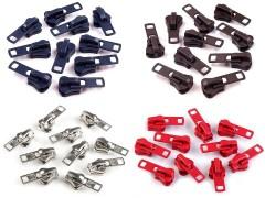 Cipzárkocsi fogazott cipzárhoz - 10 db/csomag Cipzár,-kellék,tépőzár