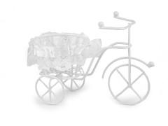 Kerékpár dekoráció kosárkával Dísztárgy,figura