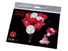Felfújható ballon szett konfettivel Party kellék