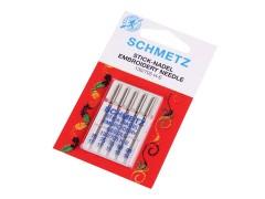 Schmetz Varrógéptű hímzéshez - 5 db/csomag Varrógép kellék