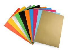 Szines öntapadós papir - 10 ív/csomag Papir,celofán,fólia