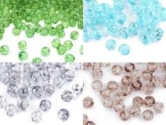 Műanyag krakl gyöngyök - 50 db/csomag Gyöngy-,gyöngyfűző