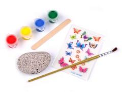 Kreatív készlet kőfestésre Kreatív szett
