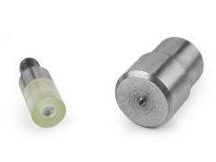 Bőrszegecs, csőszegecs aparát - 5 mm Fém rövidárú